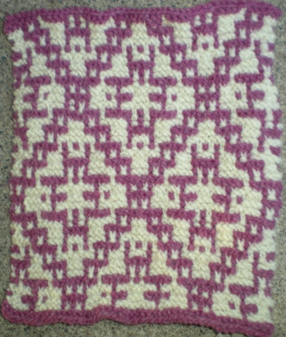 Mosaic Knitting Stitches Patterns : 21 October 2009 Minnesota Knitters Guild